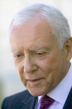 AL HARTMANN  |  Tribune File Photo Sen. Orrin Hatch, R-Utah