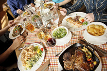 Potluck dinners are popular because they are a low-stress, budget-friendly way to entertain, as long as certain rules are followed.