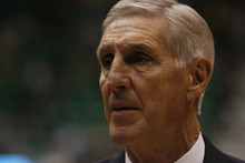 Tribune file photo Former Utah Jazz coach Jerry Sloan, seen here in a 2010 game, is interested in returning to the NBA, he tells The Tribune.