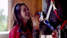 Bailie Madison stars as Ida Clanton, an Oklahoma girl who discovers her passion as a rodeo trick-rider, in