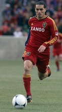 Rick Egan  | The Salt Lake Tribune   Real Salt Lake's Fabian Espindola (7), in MLS soccer action, Real Salt Lake vs FC Dallas, in Sandy, Saturday, May 26, 2012.