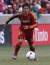 Rick Egan  | The Salt Lake Tribune   Real Salt Lake's Terukazu Tanaka, (53) in MLS soccer action, Real Salt Lake vs FC Dallas, in Sandy, Saturday, May 26, 2012.