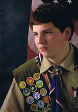 Courtesy of Ron Thayer.  Tucker Thayer, 15, of St. George, died in a prop gun accident on Nov. 15, 2008.