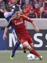 Rick Egan  | The Salt Lake Tribune   Real Salt Lake midfielder Will Johnson (8) (4) in MLS soccer action, Real Salt Lake vs FC Dallas, in Sandy, Saturday, May 26, 2012.