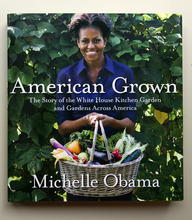 HOLD FOR RELEASE AT 12:01 A.M. TUESDAY, MAY 29, 2012, AND THEREAFTER WITH STORY SLUGGED: MICHELLE OBAMA BOOK - A copy of first lady Michelle Obama's book is seen in Washington, Thursday, May 24, 2012. From the beginning, Obama's kitchen garden has been an overachiever, churning out more peppers, parsley and eggplant than expected, and generating interest that _ yes, really _ crosses oceans. (AP Photo)