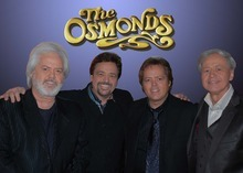 The Osmond Brothers - Merrill, Jay, Jimmy and Wayne (from left). (courtesy photo)