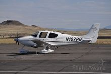 Four people were killed Tuesday after this Cirrus SR20, pictured two years ago, crashed in Kane County.  The photo was published on the flight tracking website, FlightAware. Courtesy photo