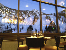 The Aerie restaurant at Snowbird Ski resort was recently remodeled. Courtesy image