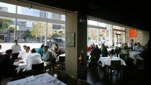 Steve Griffin  |  The Salt Lake Tribune    Interior of Zy restaurant in Salt Lake City, Utah Friday, October 14, 2011.