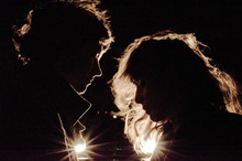 Beach House, the opening act in the 2012 Twilight Concert Series in Salt Lake City. (Photo courtesy Liz Flyntz)