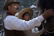 Courtesy Hana Matsumoto  |  ARC Entertainment Gen. Velarde (Andy Garcia, left) befriends a young rebel (Mauricio Kuri) during Mexico's Cristeros War in the historical drama