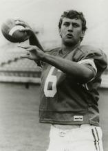 Tribune file photo Robbie Bosco, Brigham Young University quarterback, is pictured in this 1986 photo.