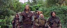 This film image released by Universal Pictures shows Chris Hemsworth in a scene from