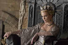 This film image released by Universal Pictures shows actress Charlize Theron in a scene from