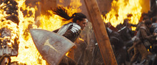 This film image released by Universal Pictures shows actress Kristen Stewart in a scene from