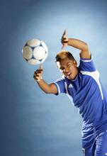 Francisco Kjolseth  |  The Salt Lake Tribune Soccer 3A MVP forward David Ignacio of Dixie.