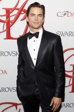 Actor Matt Bomer poses backstage at the CFDA Fashion Awards on Monday, June 4, 2012 in New York. (Photo by Jason DeCrow/Invision/AP)