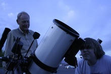 Photo by Sherry Petit The Salt Lake Astronomical Society offers free public gatherings  that showcase what is visible in the night sky.