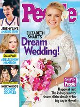 Courtesy photo Elizabeth Smart on the cover of People magazine.