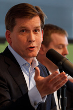 Trent Nelson  |  The Salt Lake Tribune Mark Crockett speaks at a debate between Mike Winder and Crockett, the two Republican candidates for Salt Lake County mayor Wednesday, June 6, 2012 in Salt Lake City, Utah. The debate was put on by the Utah Taxpayers Association.