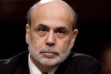 Federal Reserve Board Chairman Ben Bernanke testifies on Capitol Hill in Washington, Thursday, June 7, 2012, before the Joint Economic Committee about the health of nation's economy, the slumping recovery, and the European debt crisis. (AP Photo/J. Scott Applewhite)