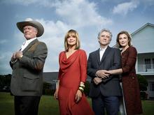 Courtesy photo Larry Hagman, Linda Gray, Patrick Duffy and Brenda Strong star in