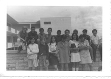 U.S. Ambassador to Kuwait Matthew Tueller got an early start in international relations, growing up in foreign countries in which his father was assigned to various State Department postings. In this 1967 photo, Tueller, far left back row, poses with his classmates in Tangier, Morocco. Courtesy photo