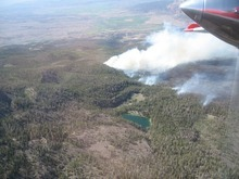 Courtesy U.S. Forest Service An aerial view of Utah's Lost Lake Fire, which continued to burn out of control in southcentral Utah Saturday.