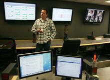 Steve Griffin  |  The Salt Lake Tribune Ralph Yarrow in the Thinkatomic offices in Orem.
