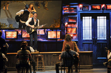 Steve Kazee performs in a scene from