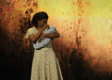 Audra McDonald performs a scene from