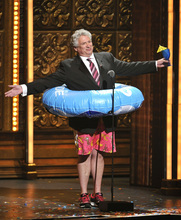 Harvey Fierstein performs at the 66th Annual Tony Awards on Sunday June 10, 2012, in New York. (Photo by Charles Sykes /Invision/AP)