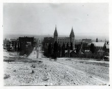 Tribune file photo  A view looking south down Main Street from Capitol Hill in the 1890s.