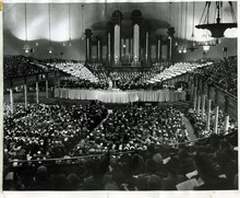 Tribune file photo  An audience fills the Tabernacle for a performance of Handel's Messiah on December 23, 1964.