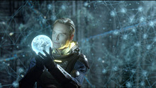 This film image released by 20th Century Fox shows Michael Fassbender in a scene from