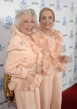 This April 22, 2010 file photo shows actresses Ann Rutherford, left, and Anne Jeffreys at the premiere of the newly restored feature film