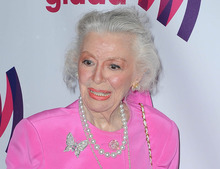 This April 10, 2011 file photo shows actress Ann Rutherford at the 22nd Annual Glaad Media Awards in Los Angeles, Calif. Rutherford, who played Scarlett O'Hara's sister Carreen in the 1939 movie classic