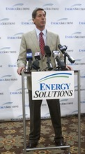 AL HARTMANN  | Tribune File Photo Val Christensen is out as EnergySolutions president and CEO.