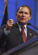 Leah Hogsten  |  The Salt Lake Tribune Utah Gov. Gary Herbert is taking the reins of the Western Governors' Association.
