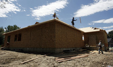 Francisco Kjolseth  |  The Salt Lake Tribune The U.S. Census Bureau released estimates Thursday saying that in 2011, the number of housing units in Utah were up from 979,709 to 993,060 --an increase of 13,351, or 1.36 percent.