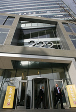Francisco Kjolseth     The Salt Lake Tribune     Goldman Sachs, which moved its operations to 222 S. Main in Salt Lake City in 2011, first opened a Utah office in 2000, but has been expanding rapidly since entering a series of tax-break deals that began in 2007.