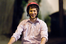 This film image released by Columbia Pictures shows Andy Samberg in a scene from