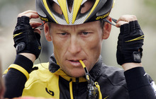 In this Feb. 22, 2009 file photo,  Lance Armstrong prepares for the final stage of the Tour of California cycling race in Rancho Bernardo, Calif.  The U.S. Anti-Doping Agency is bringing doping charges against the seven-time Tour de France winner, questioning how he achieved those famous cycling victories.  Armstrong, who retired from cycling last year, could face a lifetime ban from the sport if he is found to have used performance-enhancing drugs. He maintained his innocence, saying: