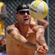 Jake Gibb. (Beach Volleyball photo).