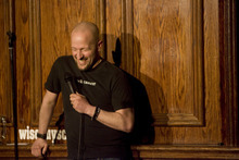 Kim Raff  |  The Salt Lake Tribune Dov Siporin does stand-up comedy at Wiseguys Trolley Square in Salt Lake City about his experience with having terminal colon cancer. Siporin believes that