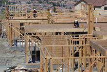 (AP Photo/Nick Ut) Builders have grown more confident since last fall, in part because more people are expressing an interest in buying a home. Cheaper mortgages and lower home prices in many markets have made home buying more attractive