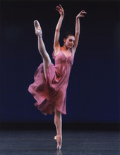 Tiler Peck, of the New York City Ballet.  Courtesy Paul Kolnik