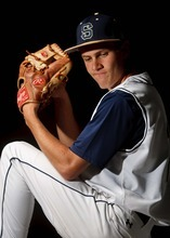Trent Nelson  |  The Salt Lake Tribune All-State 4A MVP: Skyline's Bridger Berrett was in the middle of the action all season, and earned 4A baseball MVP honors.