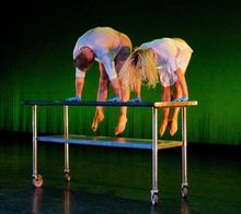 Courtesy of John Brandon Jenny Larsen and Nathan Shaw performing in SB Dance's
