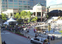 Courtesy of The Gateway The Gateway is hosting free live concerts on Thursdays through July 26 at the Olympic Legacy Plaza.
